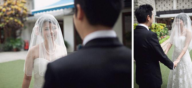 groom and bride at union church hong kong