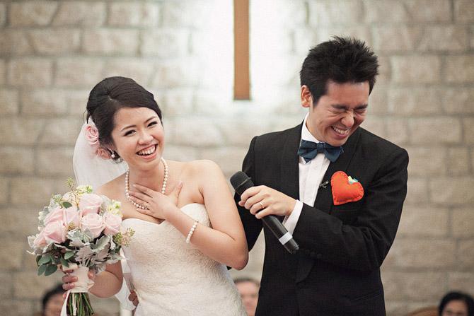 happy wedding snap