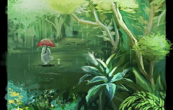 [Image: totoro_rain.png]